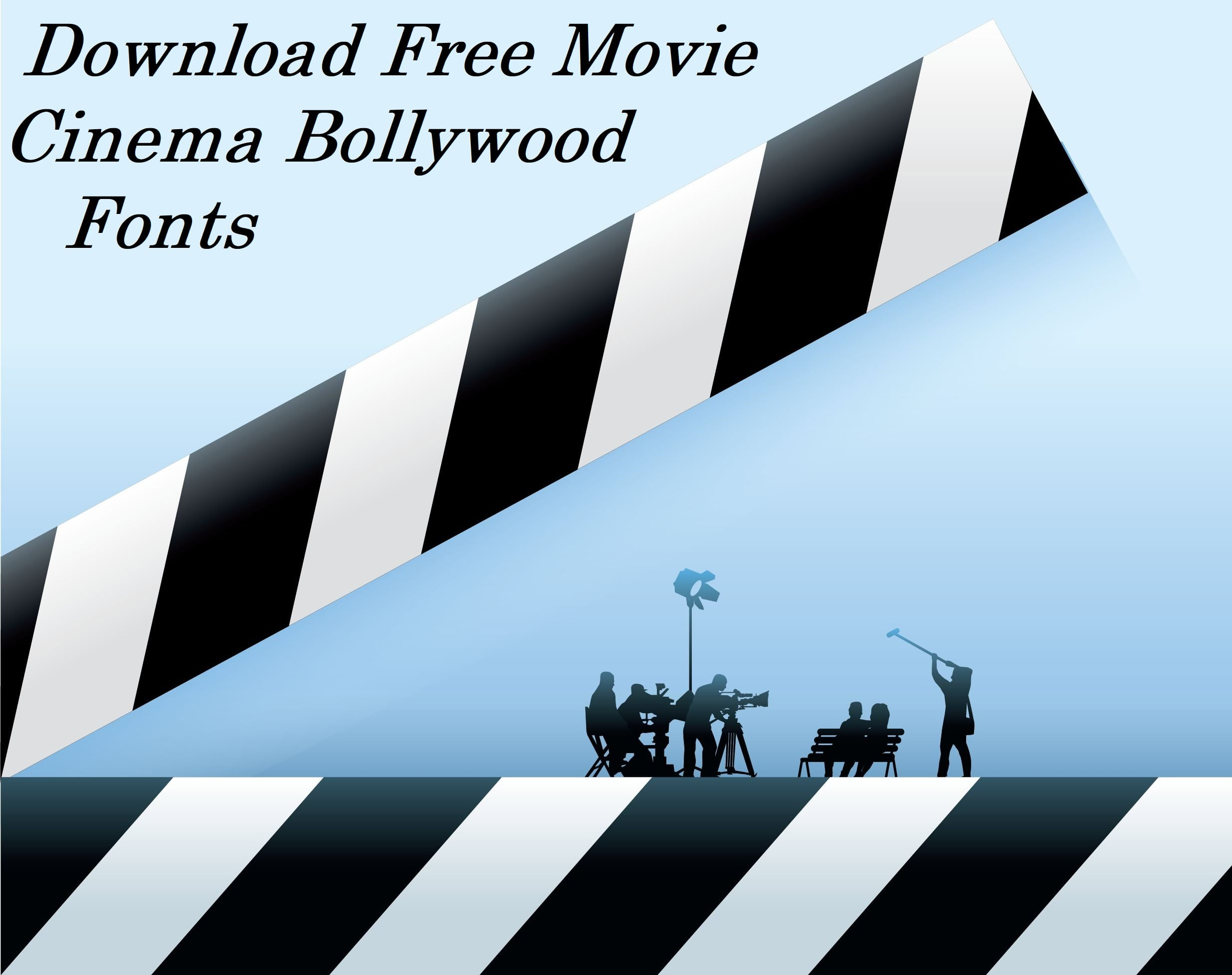 download free movie cinema bollywood fonts crazylearner